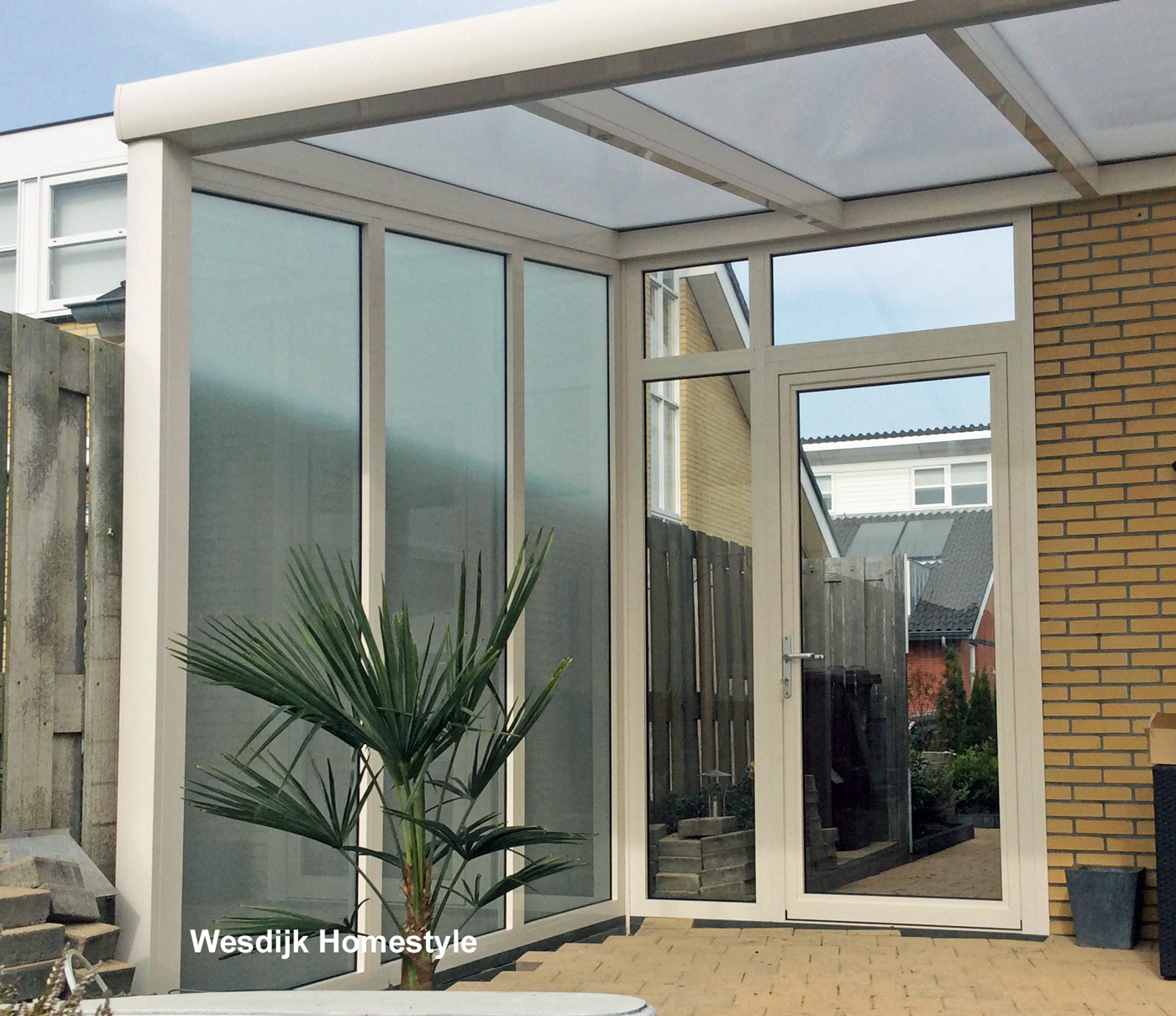 Terrasoverkapping met glas terrasoverkapping glas for Holland deuren service