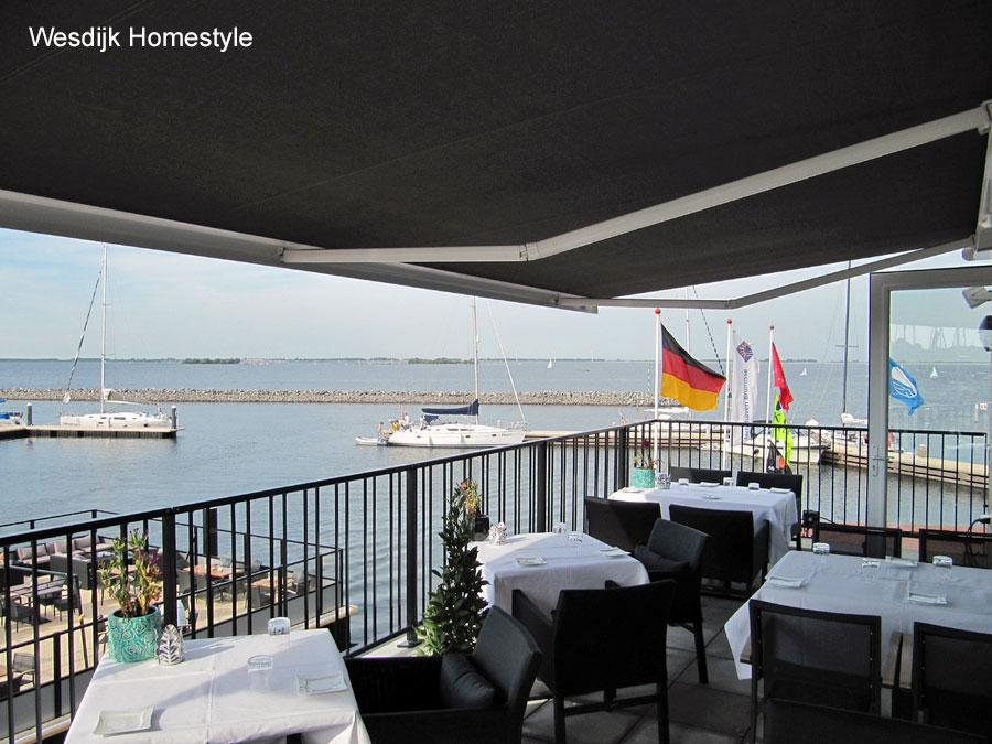 Horeca zonwering projecten horeca zonwering specialist - Overdekt terras voor restaurant ...